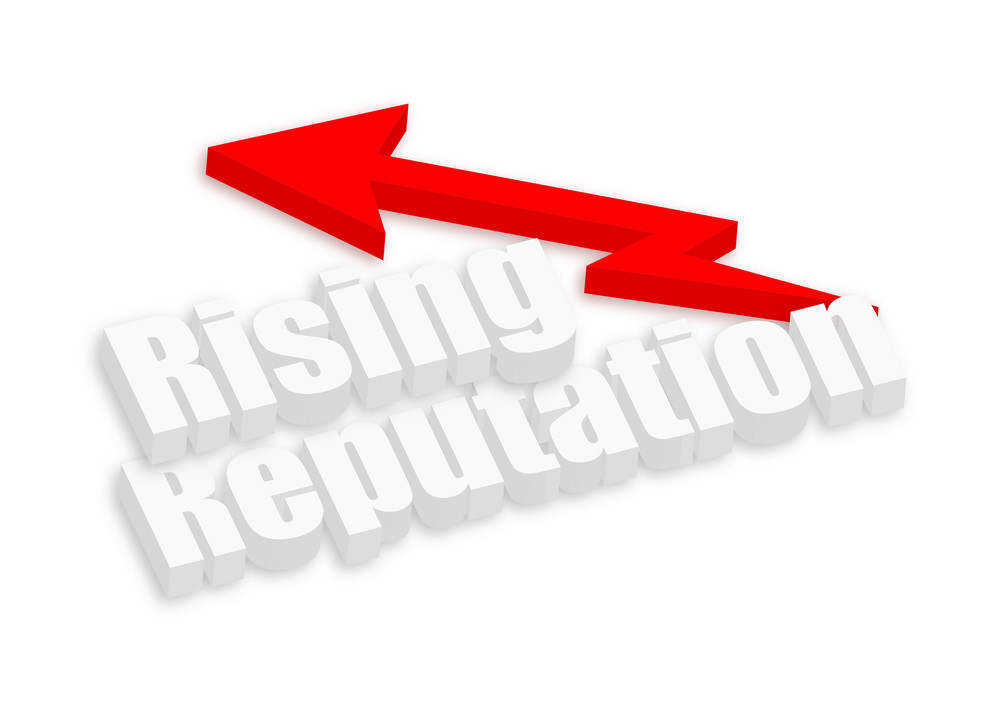 Rising Reputation Text