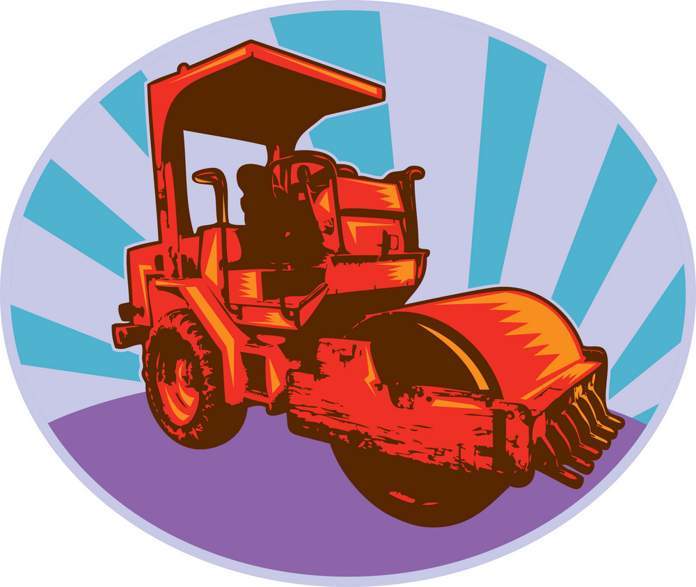 Road Roller Construction Equipment