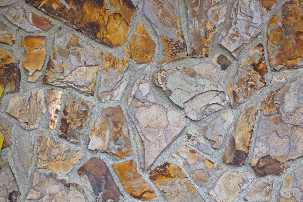 Rock Patterned Wall