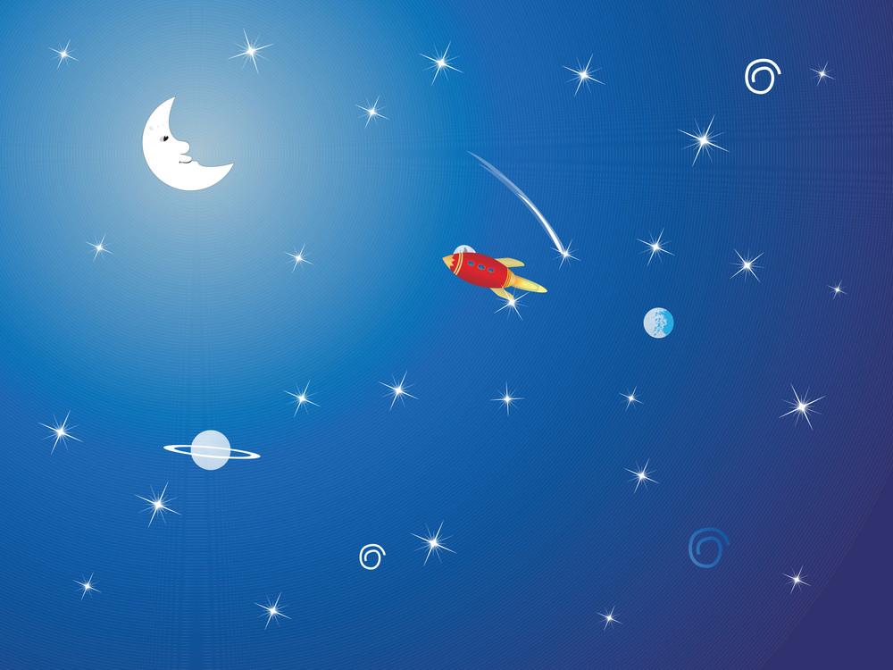 Rocket In The Galaxy