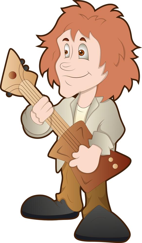 Rockstar - Cartoon Character