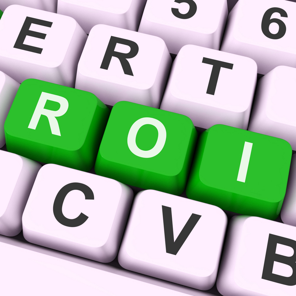 Roi Keys Mean Financial Or Return On Investment