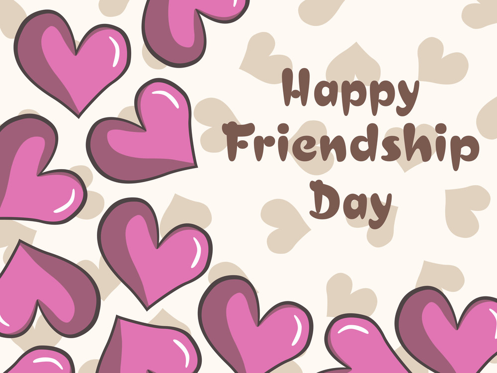 Romantic Background For Friendship Day