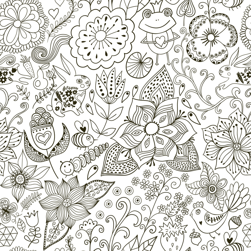 Pattern Doodle Awesome Decorating