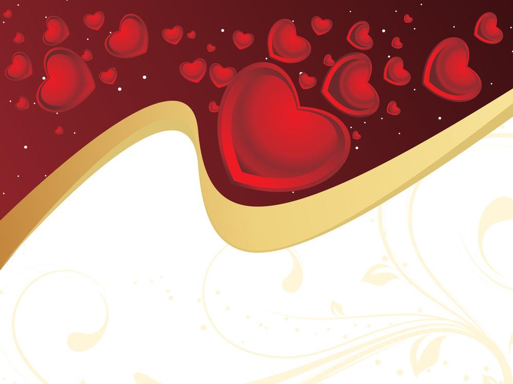Romantic Halftone Background