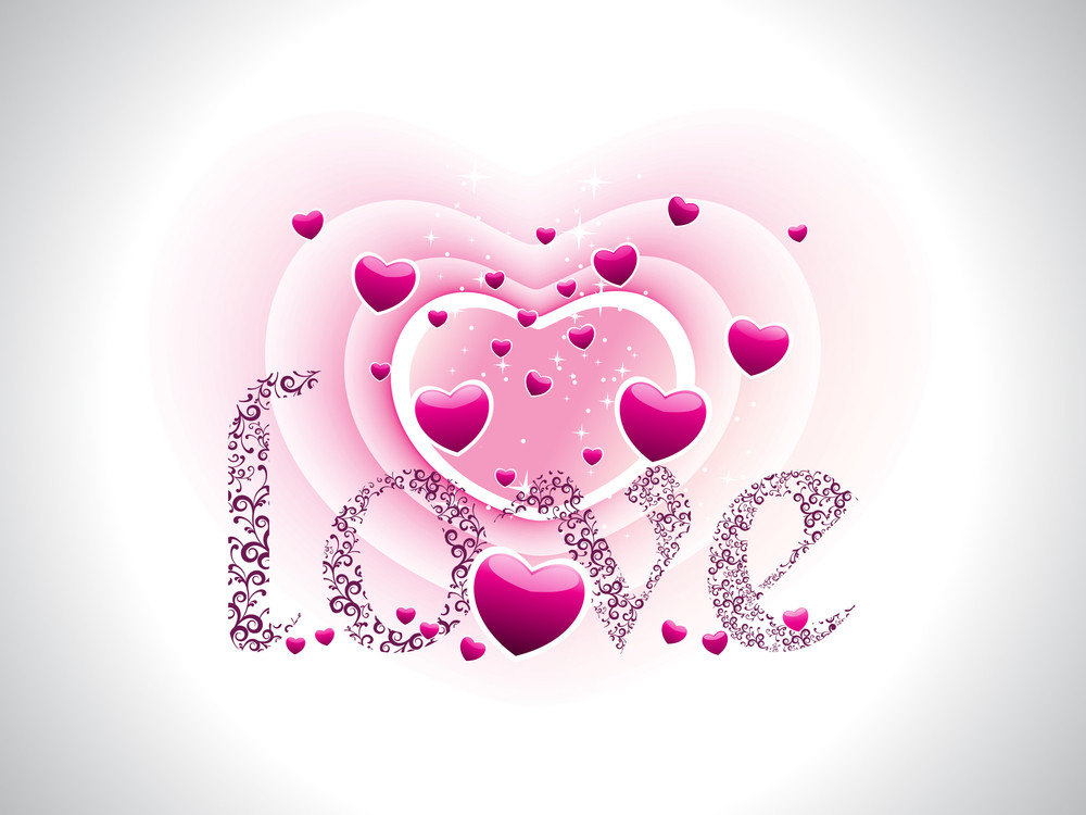 Romantic Love Wallpaper Royalty Free Stock Image Storyblocks Images