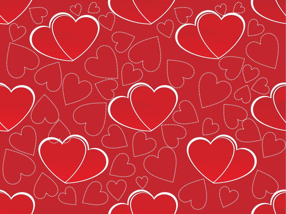 Romantic Pattern Illustration