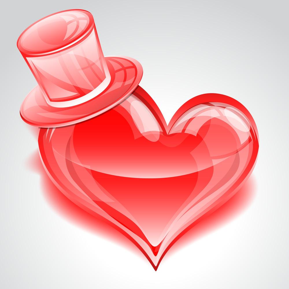 Romantic Valentine's Day Heart
