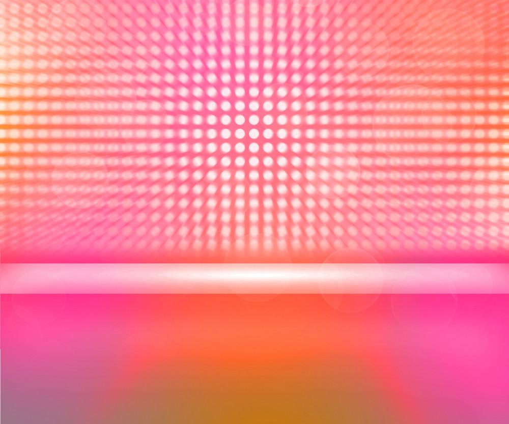 Rose Stage Spotlight Background