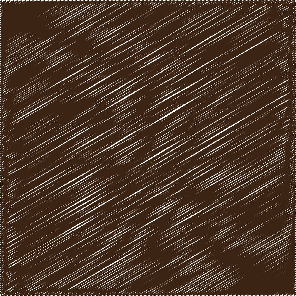 Rough Scribble Brown Background