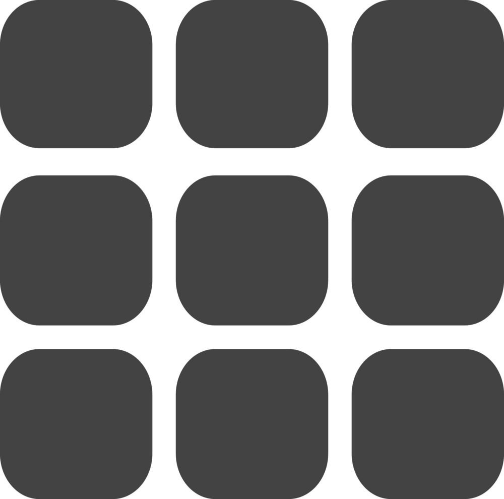 Rubic Glyph Icon