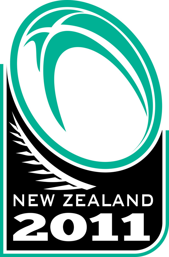Rugby Ball Fern New Zealand 2011