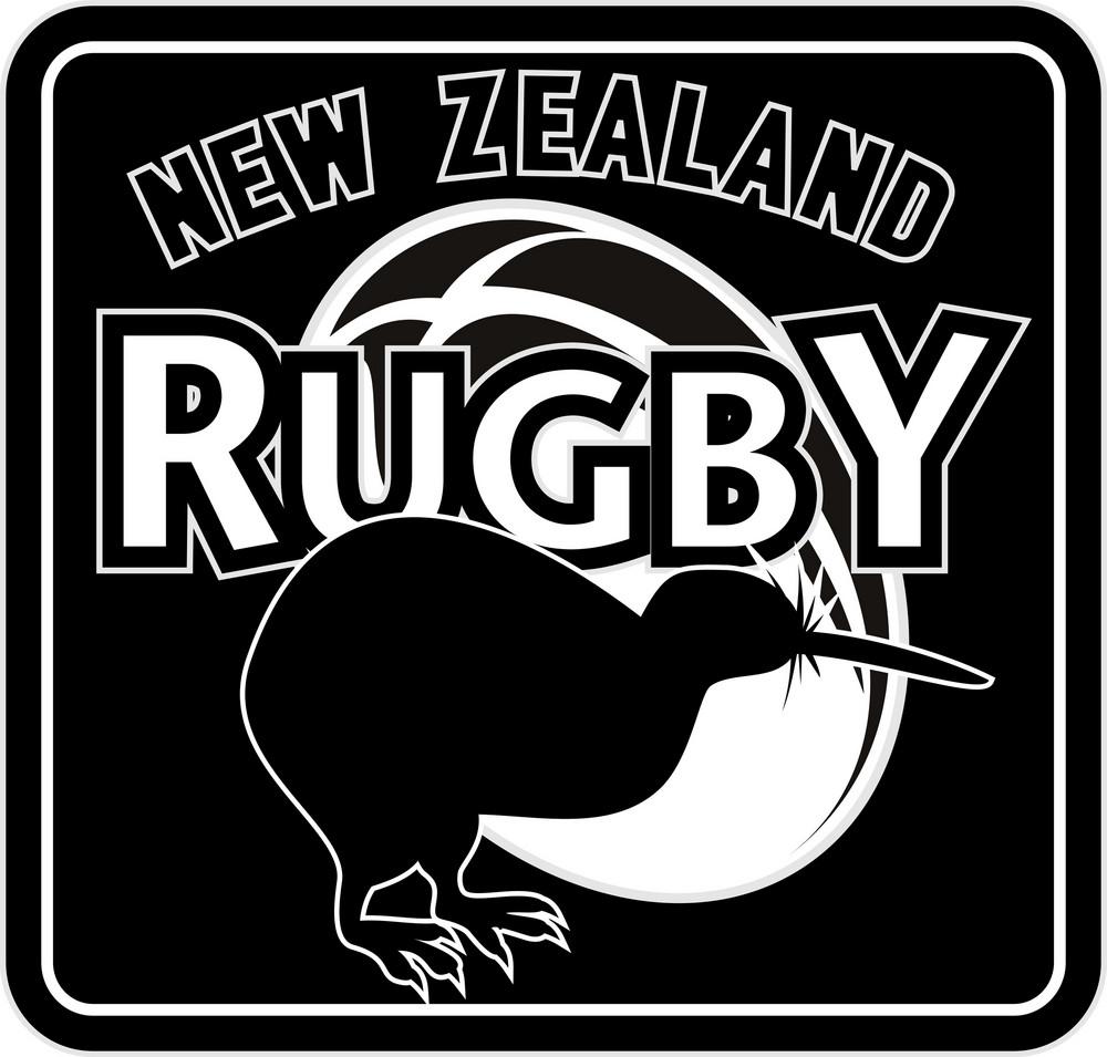 Rugby Ball Kiwi New Zealand