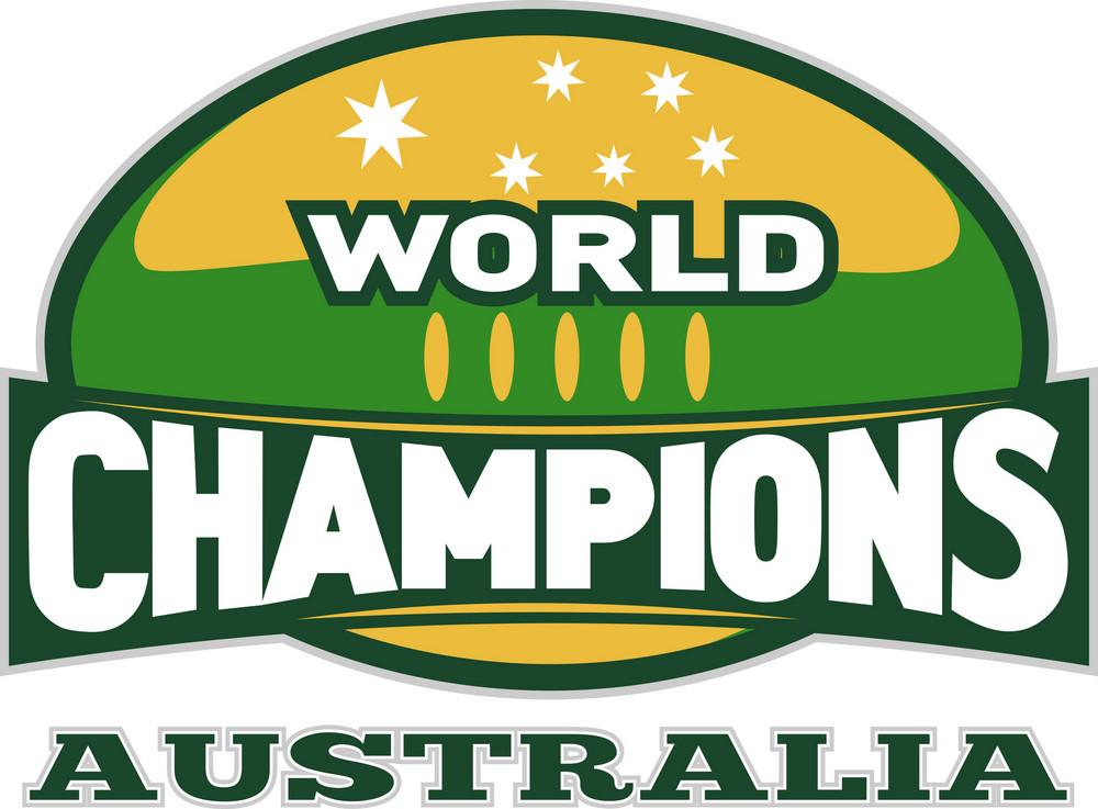 Rugby Ball World Champions Australia