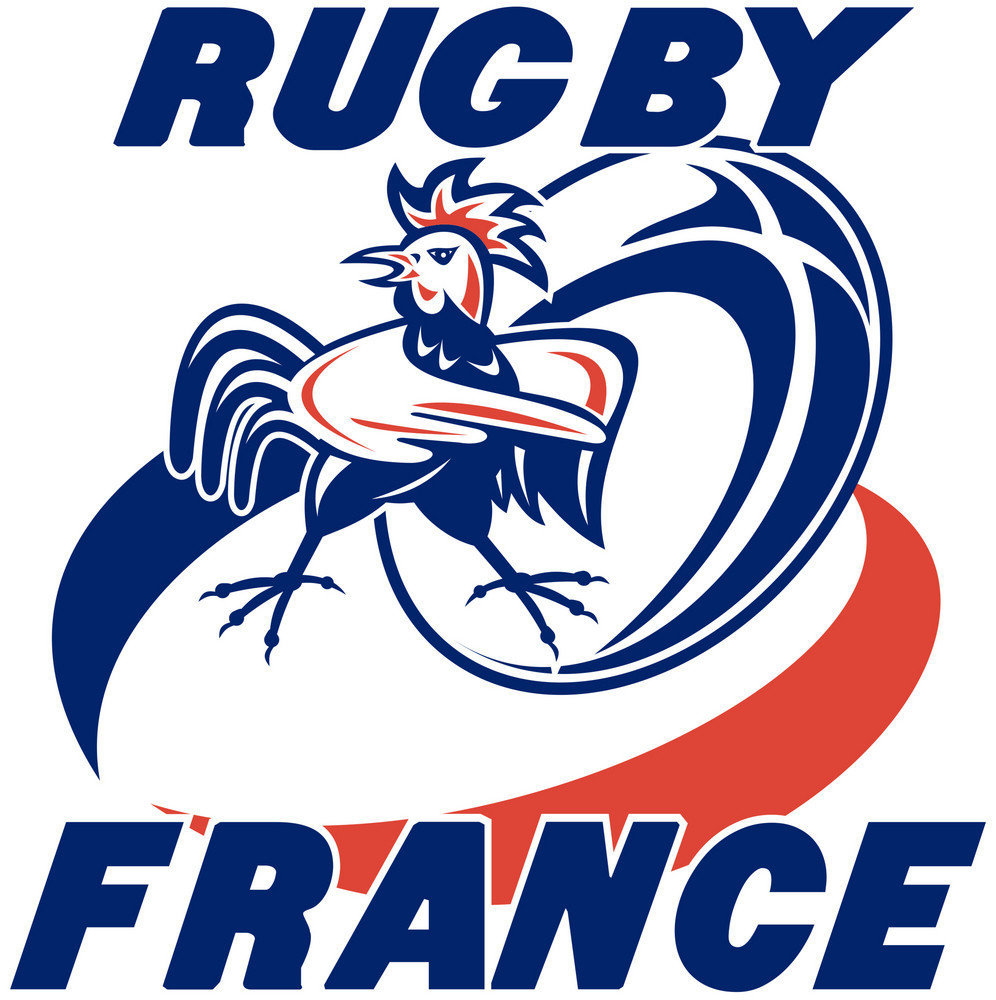 Rugby Rooster Cockerel France
