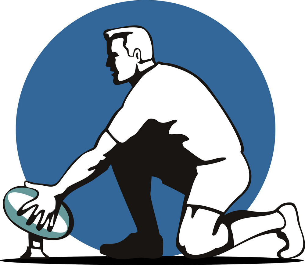 Rugby Setting Up Ball