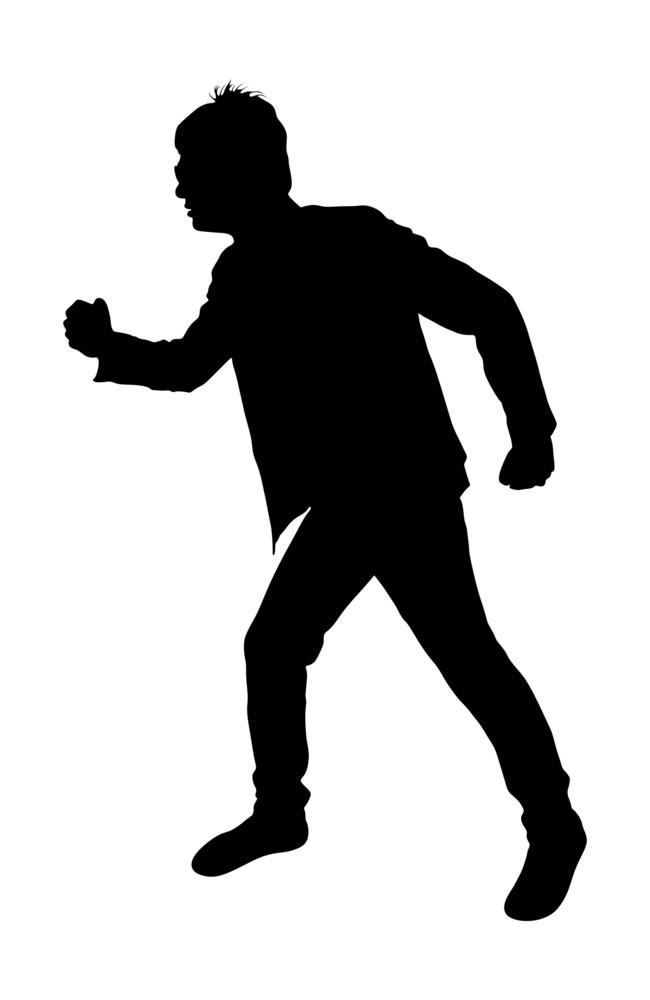 Running Man Shape