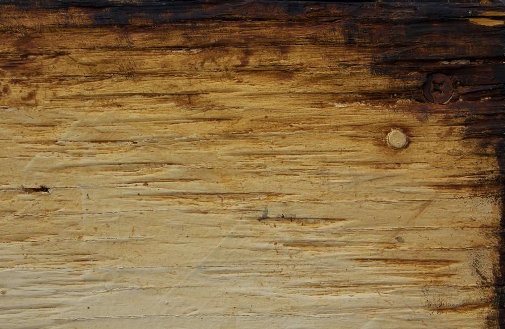 Rusty Burnt Wood Texture