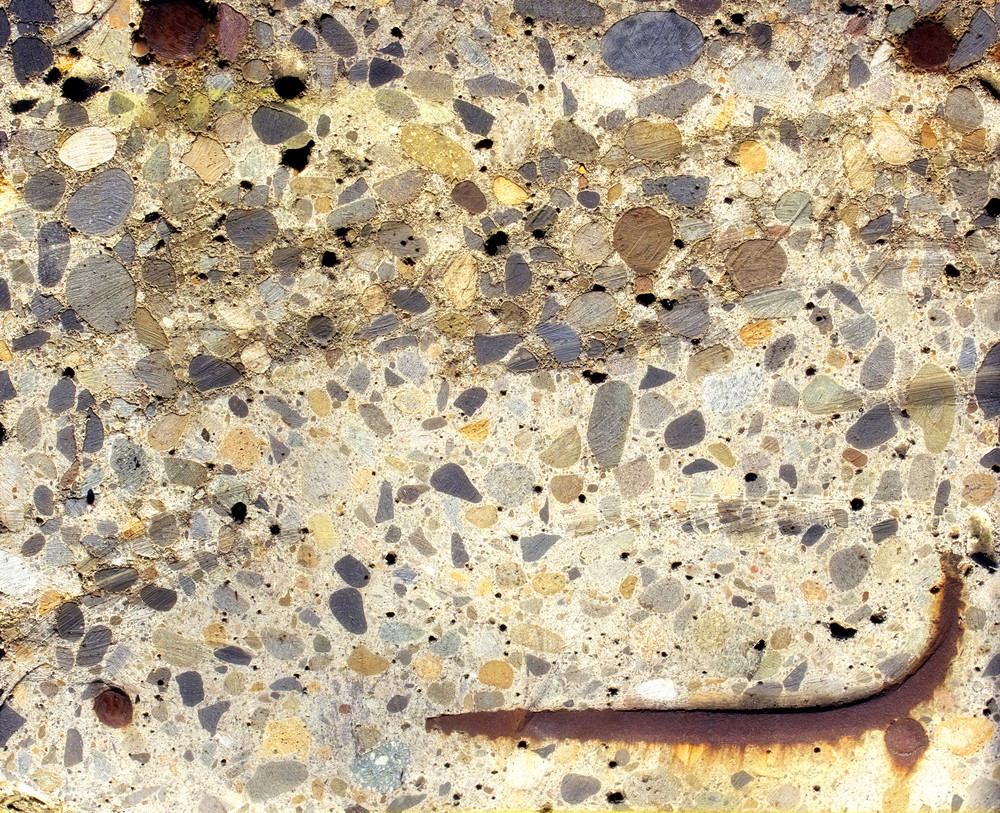 Rusty Cemented Stones Texture