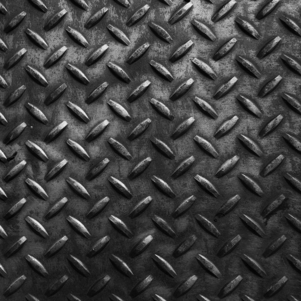 Rusty Diamond Sheet Texture