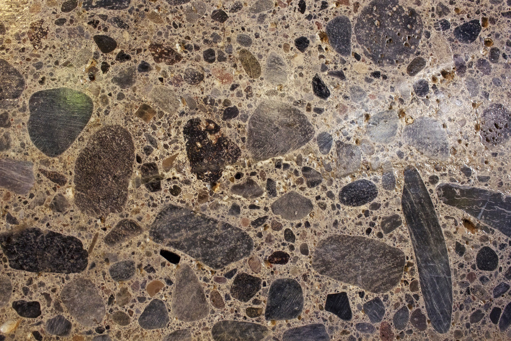 Rusty Grunge Marble Floor