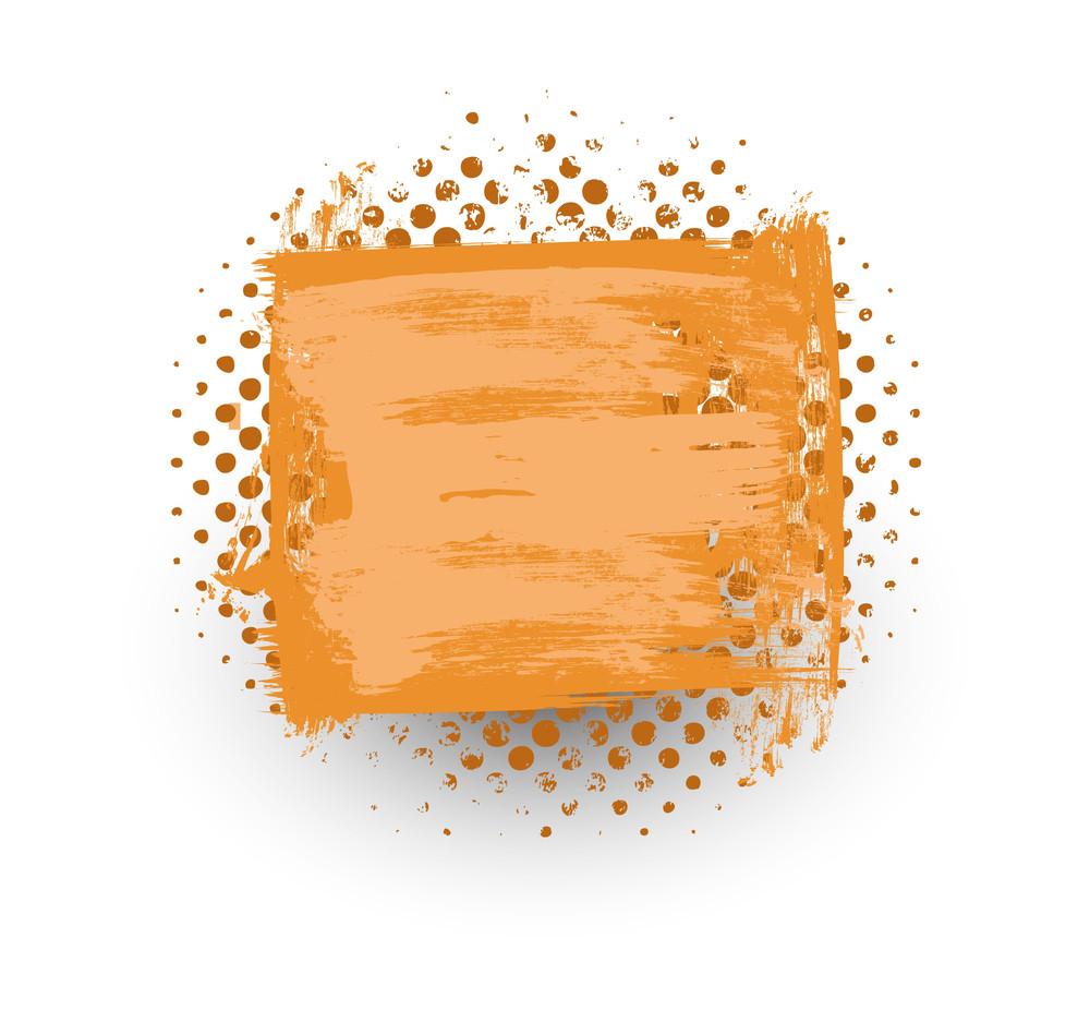Rusty Halftone Banner Design
