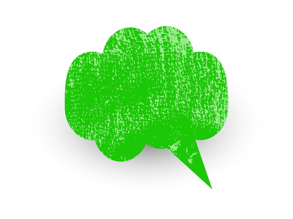 Rusty Speech Bubble