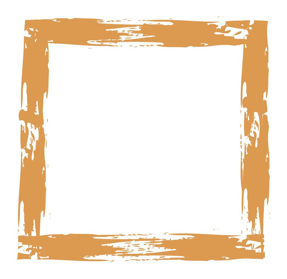 Rusty Strokes Frame