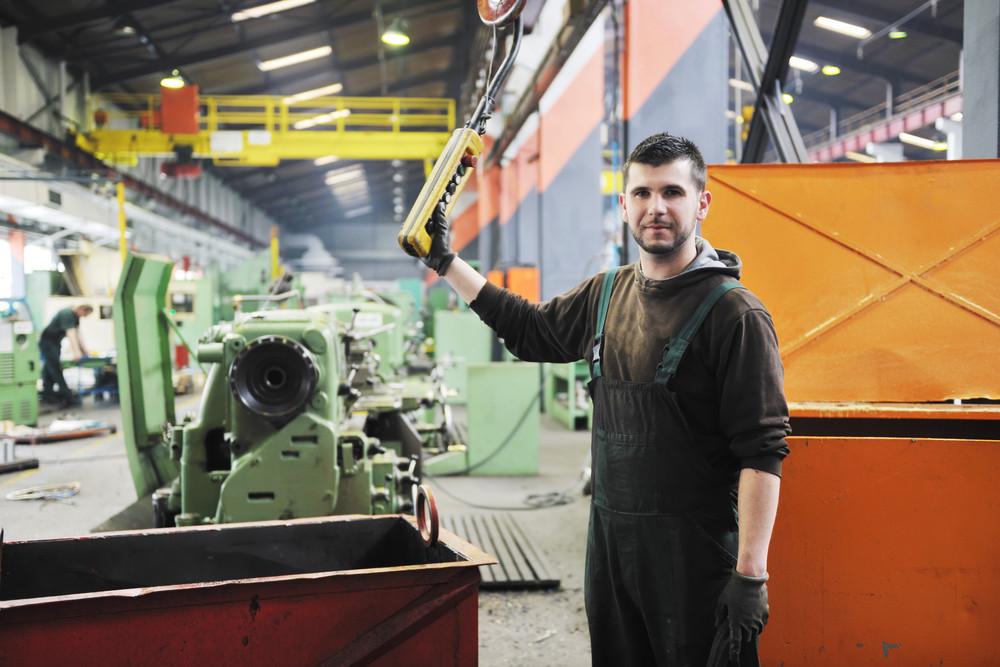 Industry Workers People In Factory