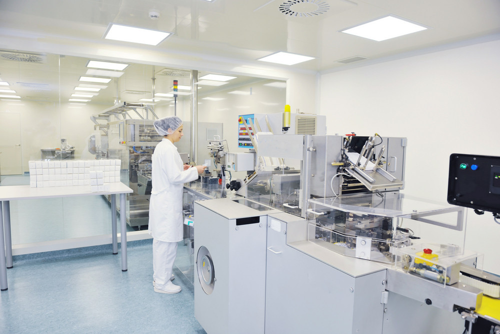Medical factory and production indoor