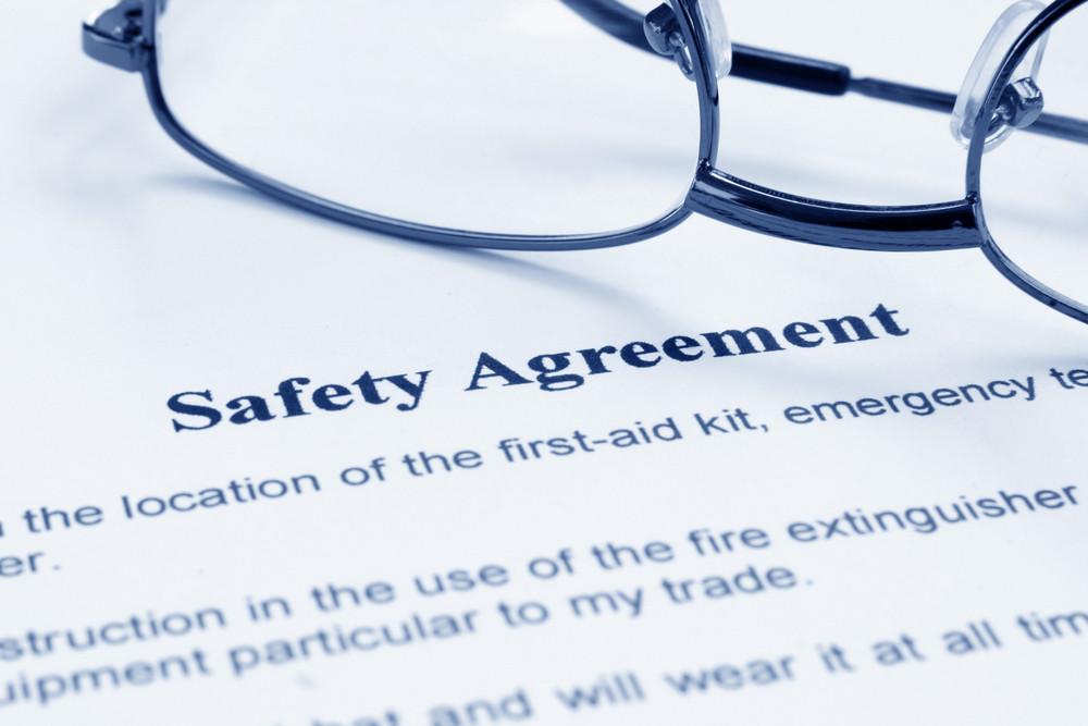 Safety Agreement Royalty Free Stock Image Storyblocks