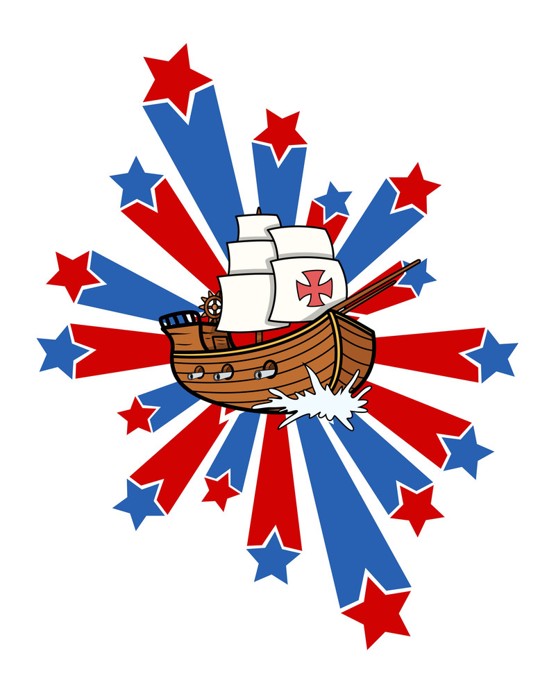 Sailing Boat Retro Holiday Graphic