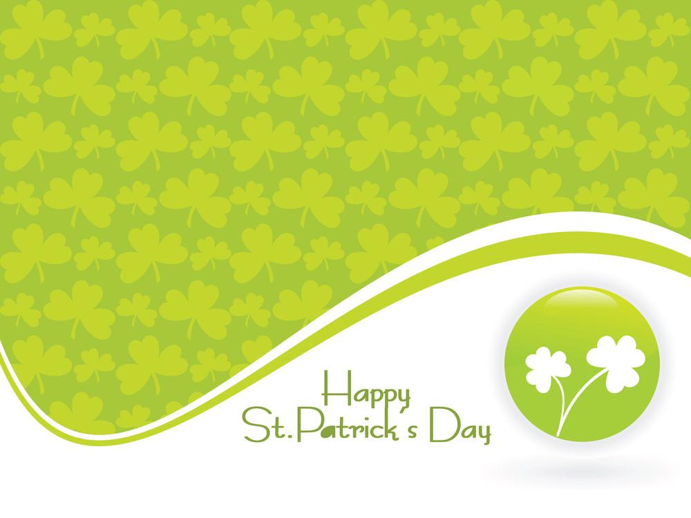 Saint Patricks Day Green Vector