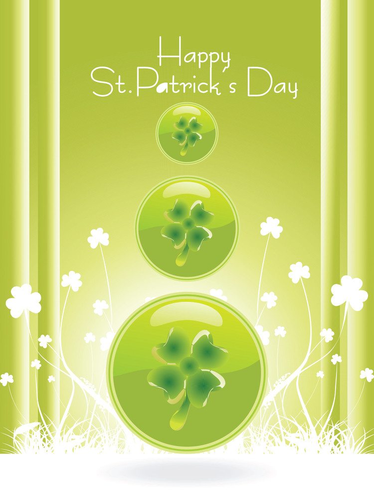 Saint Patricks Day Special With Clover