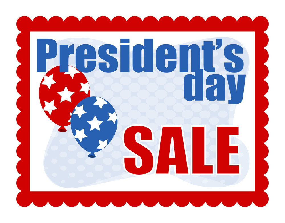 Sale Background Presidents Day Vector