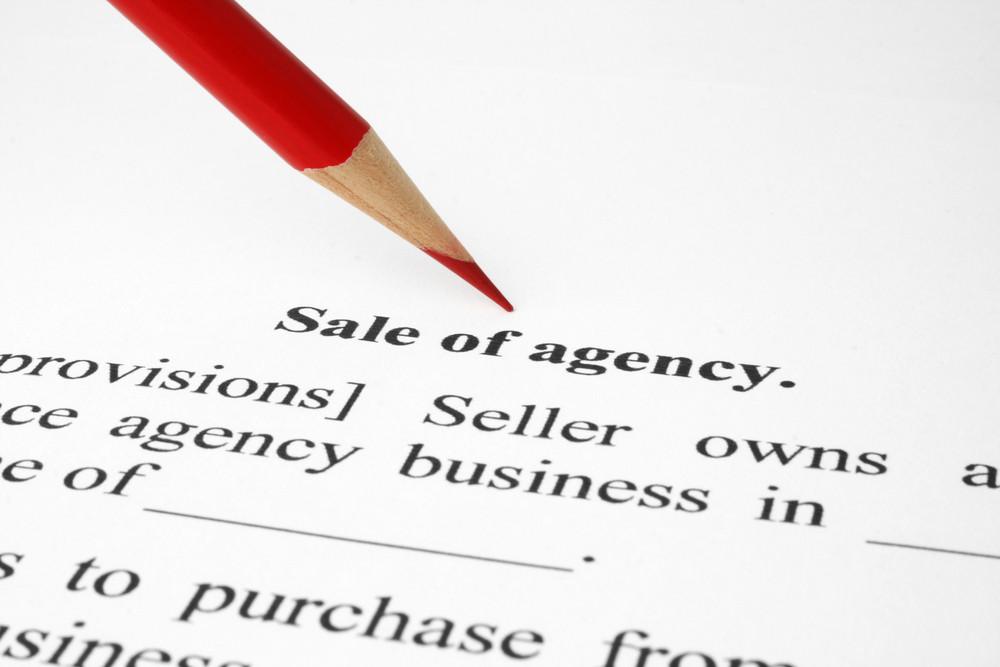 Sale Of Agency