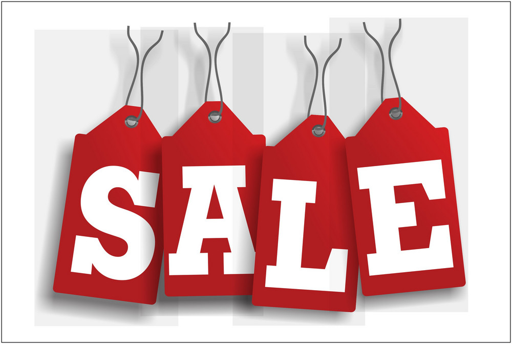 Sale Red Tags