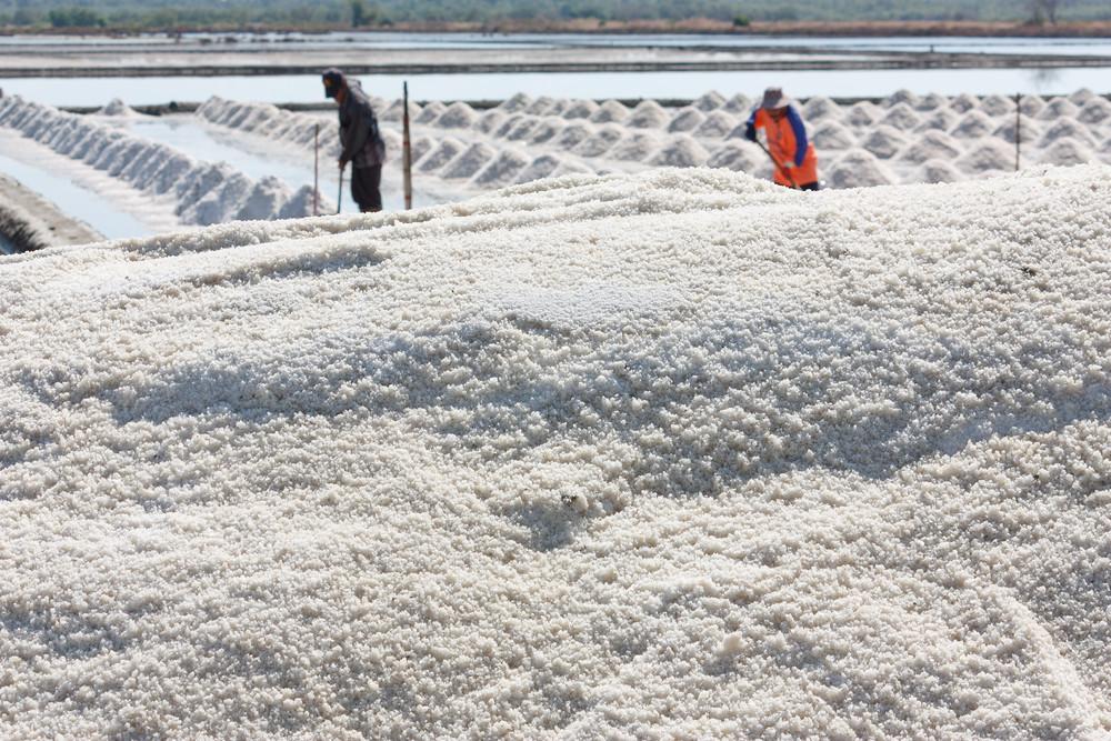Salt Texture With Farmer