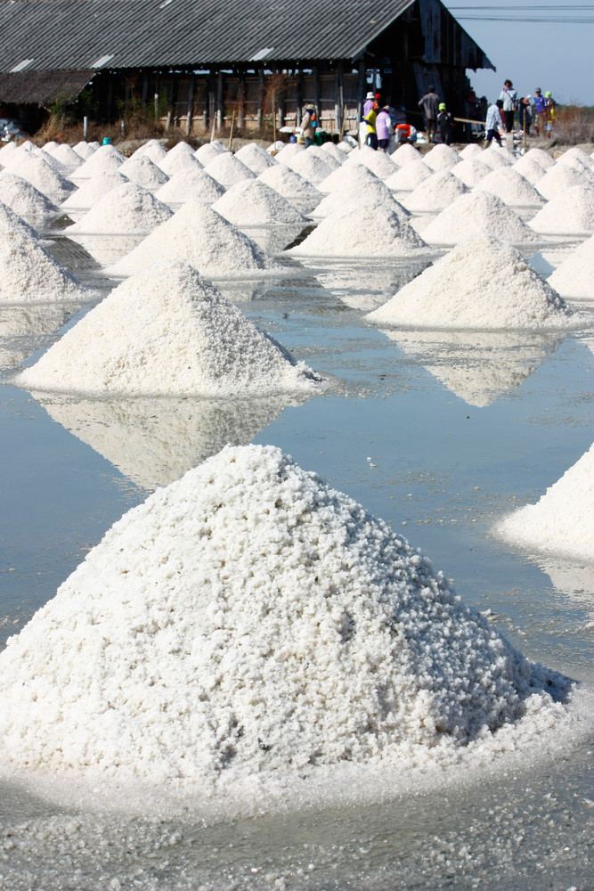 Salt Texture With Farmer