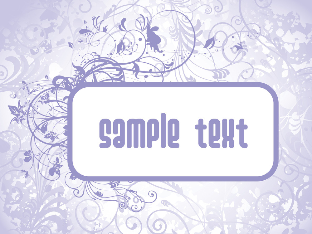 Sample Text Background