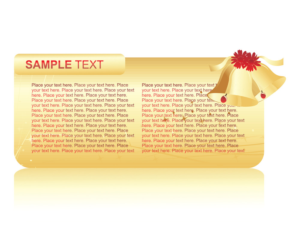 Sample Text With Bell