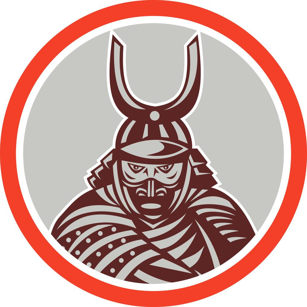 Samurai Warrior Katana Sword Attacking