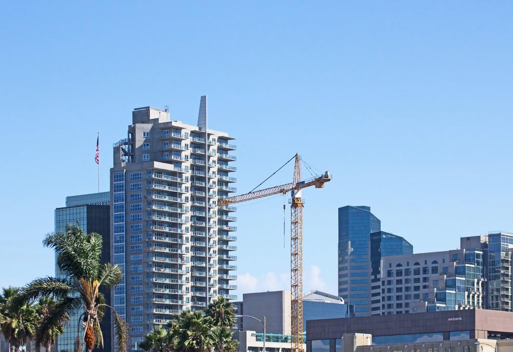 San Diego City Buildings And Bridge