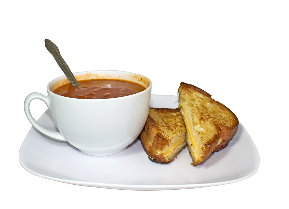 Sandwich With Soup
