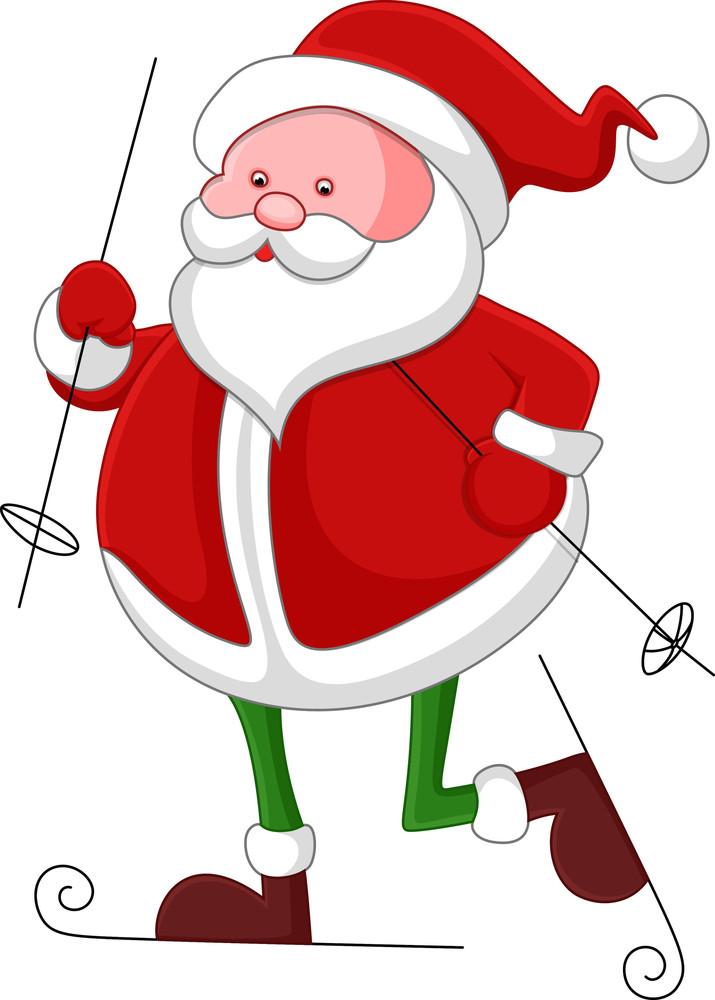 Santa Claus - Christmas Vector Illustration