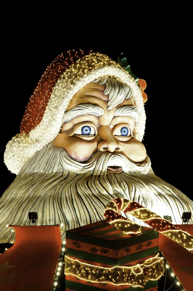 Santa Claus Figure. Outdoor