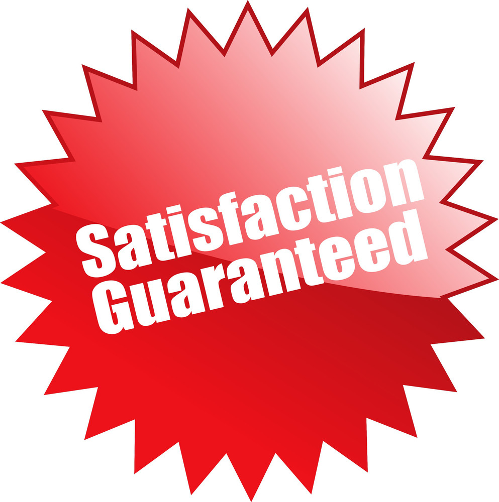 Satisfaction Guaranteed Sticker