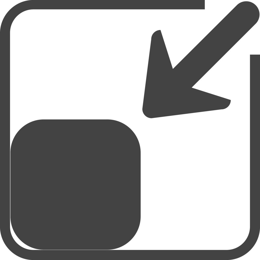 Scale 3 Glyph Icon