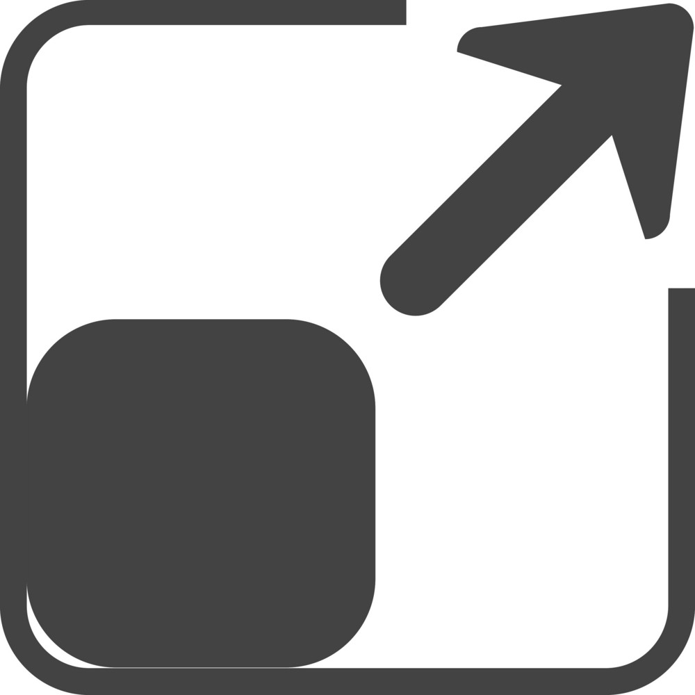 Scale 4 Glyph Icon