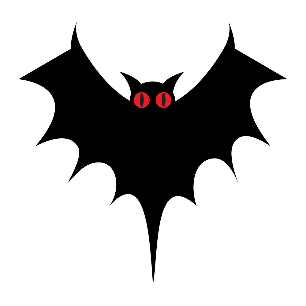 Scary Bat Shape